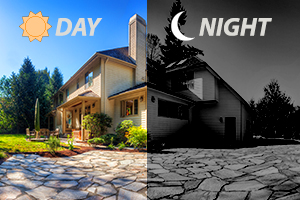 True Day/Night for round-the-clock surveillance