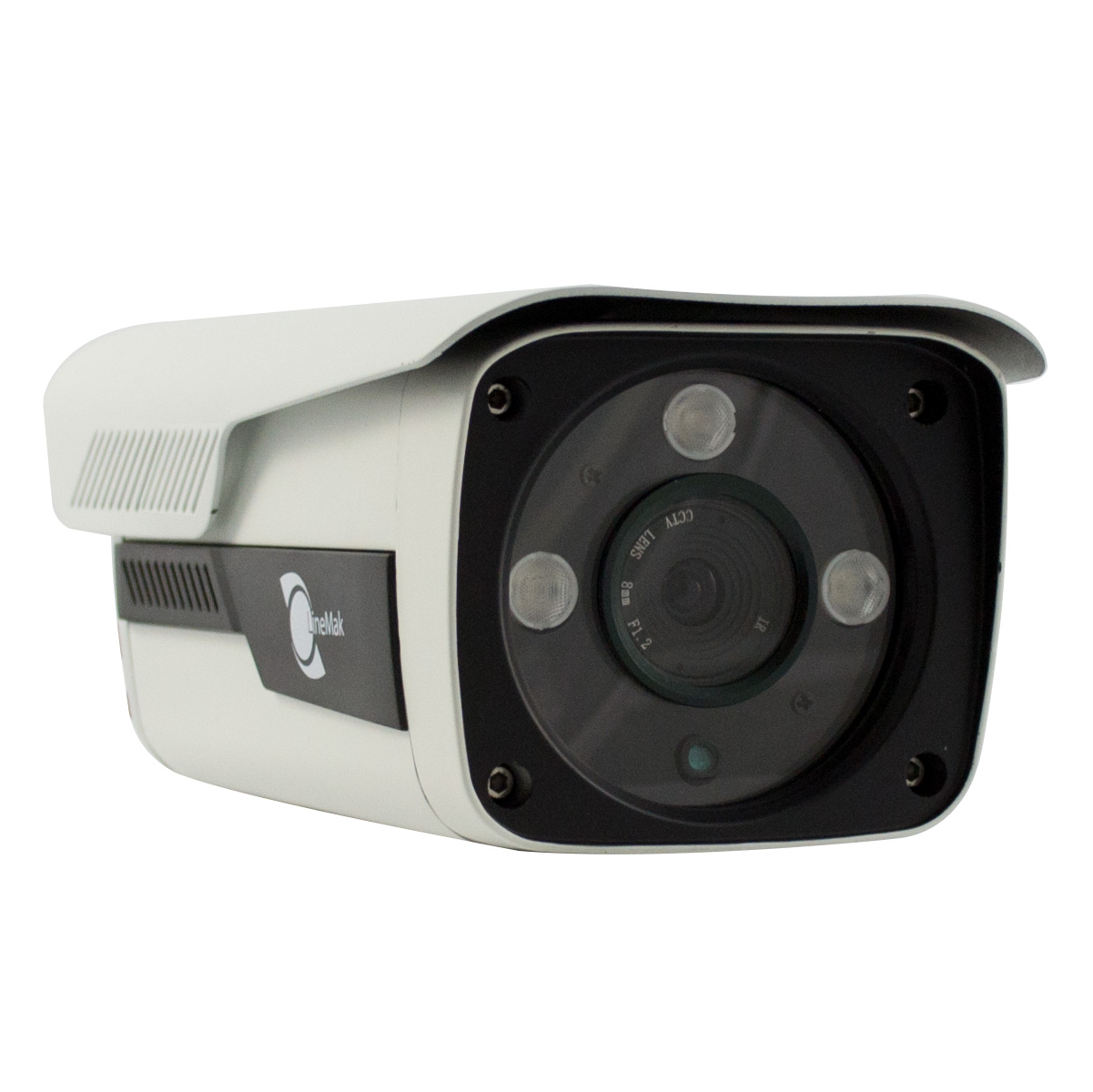 IR Bullet camera 1/2.5 SONY CCD 1.3Mp 8mm lens 3 LEDs Array IP66 - Image 1