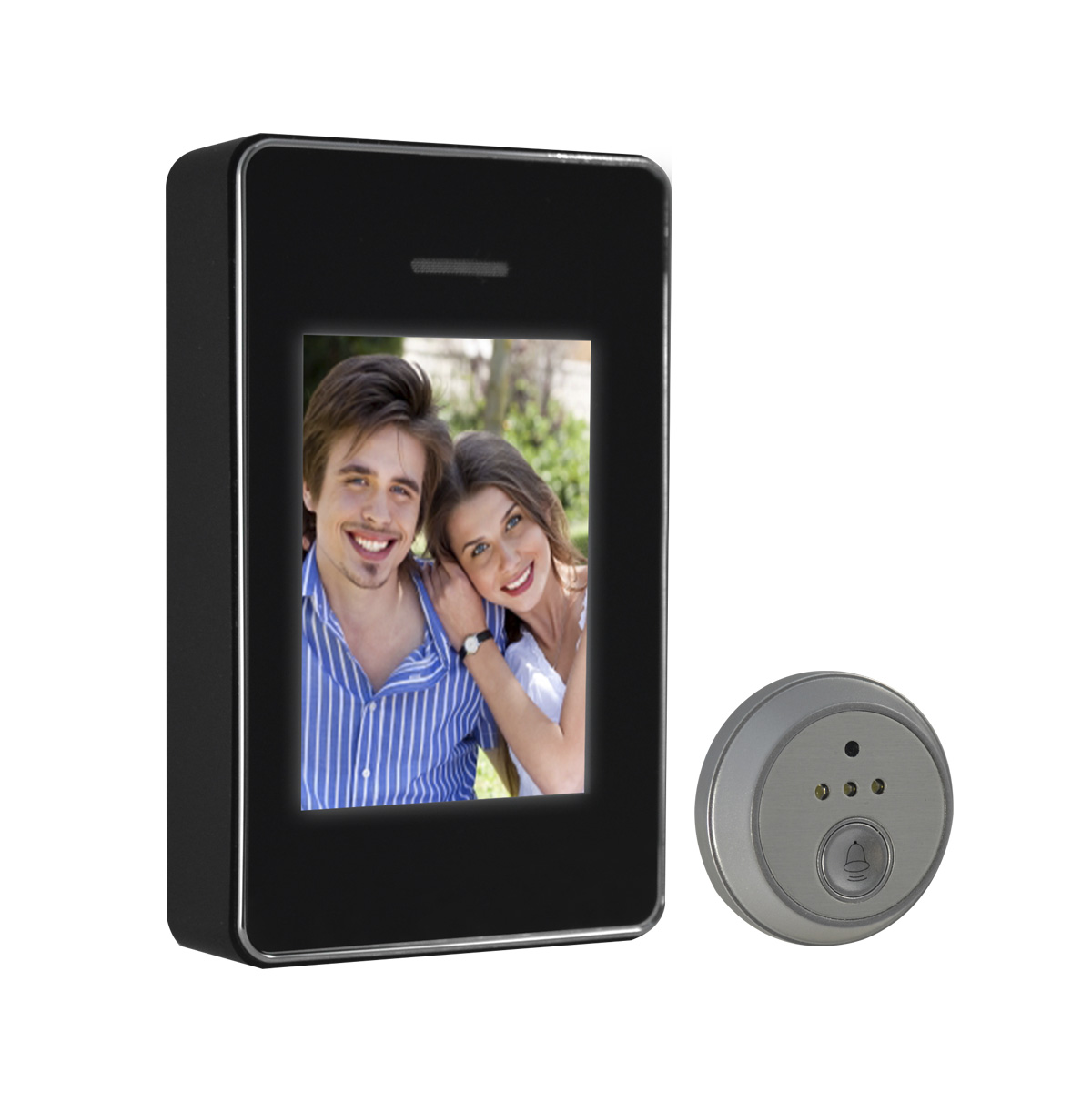 Video Intercom System with LCD screen 2.8in and camera sensor 1/6