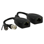 passive video balun with power 300m / 1000ft