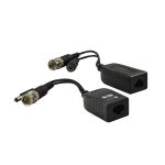 passive video balun, power and video