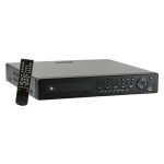 16Ch DVR, H264, BNC/VGA/HDMI output, Audio 16Ch in/1Ch out, D1.