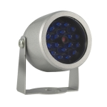 Metal lamp infrared LEDs 18, 32ft IR distance