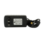 dc12v 1a power adapter, designed to operate with security cameras