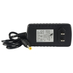 DC12V 2A Power adapter, designed to operate with security cameras